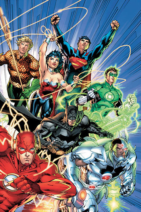 Justice League Relaunch